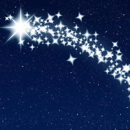 Liefde, wens, sterren.