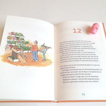 Kinderboek, review kinderboek, De gezondste opa van Europa.