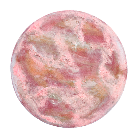 strawberry moon, schilderij