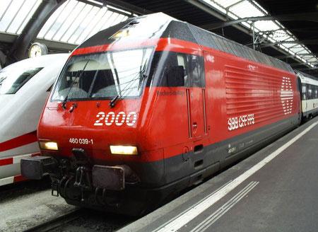 Am 15. August 2008 in Zürich HB angekommen mit dem IC 1035 aus Bern