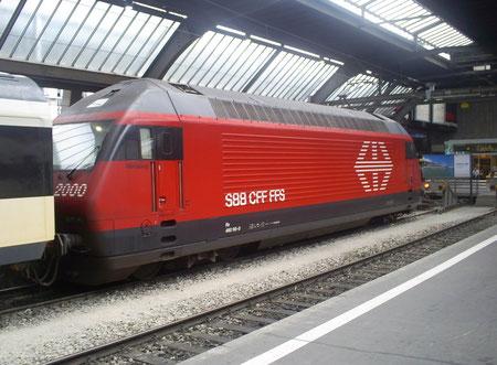 Zürich HB am 03. Juli 2008