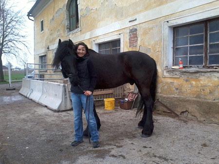 Wilrik mit seiner stolzen Besitzerin