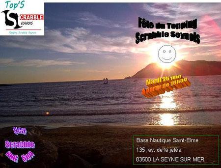 25juin : Fête de fin d'année : Sea, Scrabble and Sun