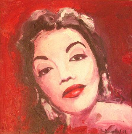 Caty Jurado 2009 Oil on canvas 30.5x30.5available