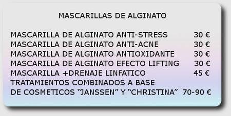 mascarillas de alginato, Mallorca