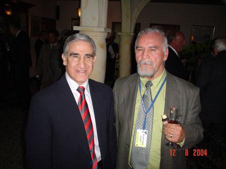 Acto de la Academia de Historia Militar - de izq a der. Mayor General Carlos Alberto Pulido Barrantes, E.R.M