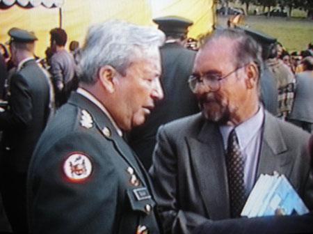 Día de la Caballería (hotel y centro de convenciones paipa) - de izq a der. General Mario Hugo Galán Rodriguez, E.R.M
