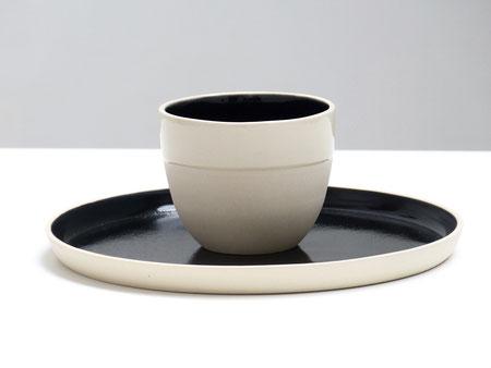 bOn, tableware by belgian ceramicist ilona van den bergh