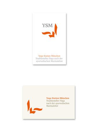 Logo und Visitenkarte in 2 Versionen.