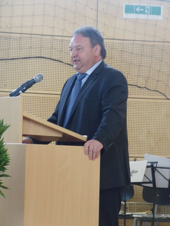 Schulverbandsvorsitzender Bürgermeister Roland Krieger