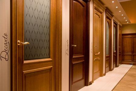 Двери межкомнатные классические.