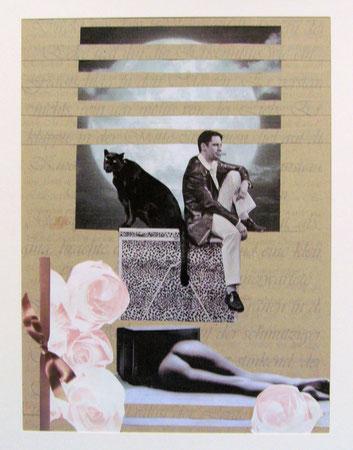 Collage Nr.2 30x40  Papier