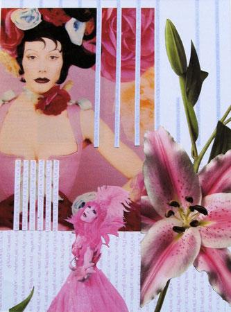 Collage Nr.4 30x40  Papier