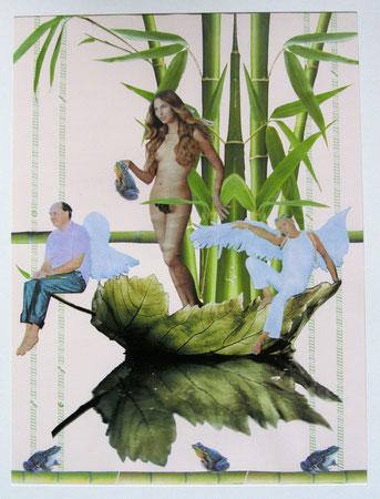 Collage Nr.5 30x40  Papier