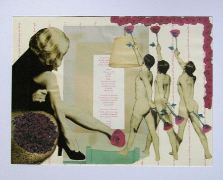 Collage Nr.3 30x40  Papier -Verkauft-