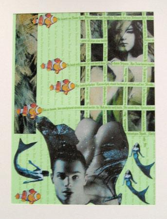 Collage Nr.1 30x40  Papier