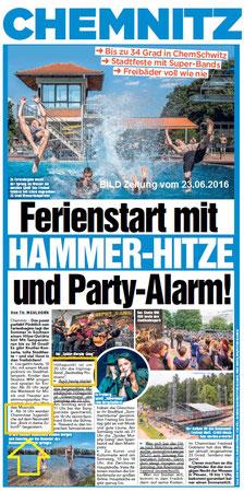 BILD Zeitung vom 23.06.2016