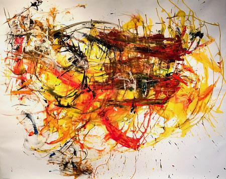 Solstitium 120x150cm Acrylic on canvas 2016 SOLD
