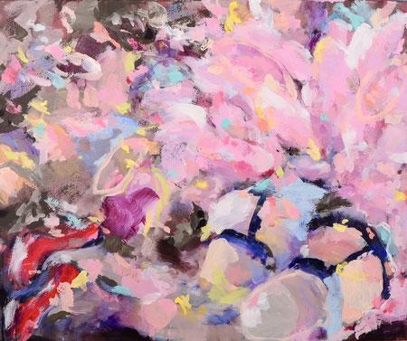 Frills 2017 | acrylic on canvas | 50 x 60 cm