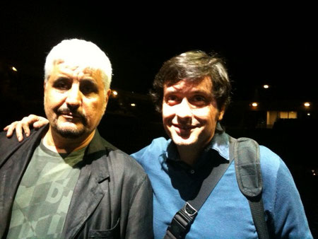 Pino Daniele e Fabrizio Riceputi,SINFONICO,Roma foro Italico 10-7 2013