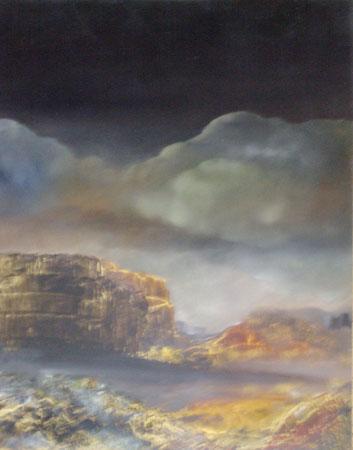 la montagne magique-huile-50x65-1975