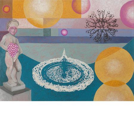 Inner Circle 2, 60x80 cm, Öl auf Leinwand, 2020