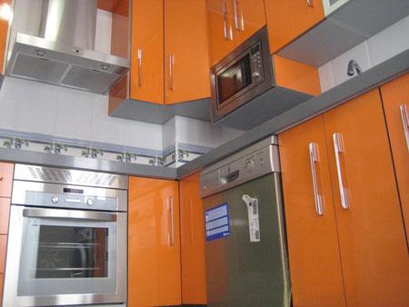 Cocina naranja en Jaen