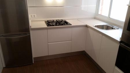 Cocina blanca Málaga