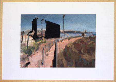 Nach Olympia Athen IV, 2014, 50 x 70 cm, Öl auf Papier