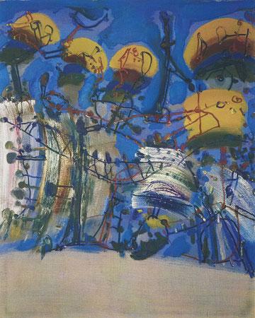 Refrain 2, Öl auf Leinwand, 1999