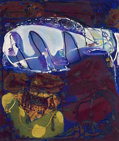 Laputa 2, Öl auf Leinwand, 1995