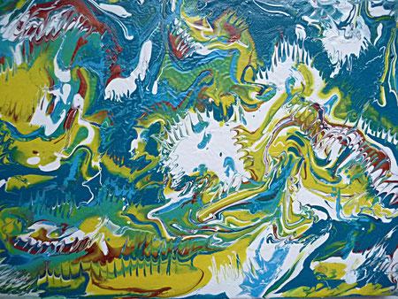 Acrylique sur toile -copyright-pascal  Richert