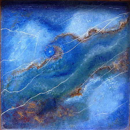 huile sur toile -copyright-Pascale Richert