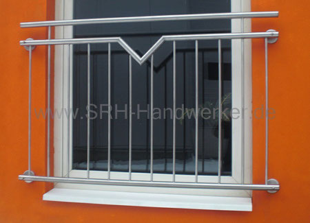 franz sische balkone aus edelstahl srh. Black Bedroom Furniture Sets. Home Design Ideas