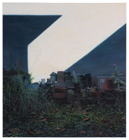 o.T., 120 x 110 cm, Öl auf Baumwolle, 2015