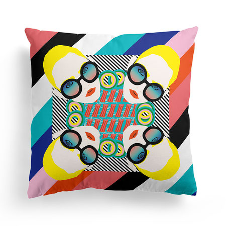 PILLOW »PARASOLS«