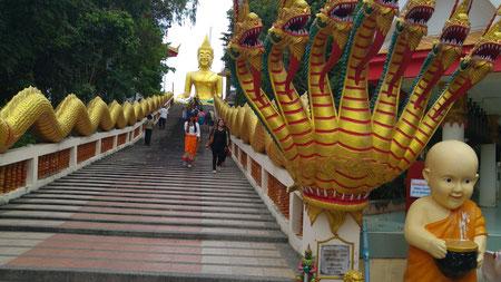 Aufstieg zum Pattaya Hill