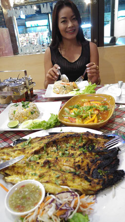 Dinner mit Urlaubsabschnittsgefährtin
