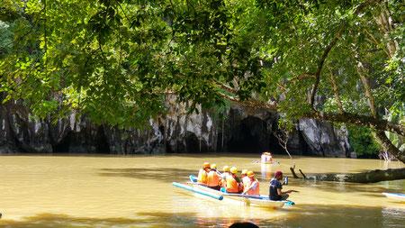 Bootstour zum Underground River