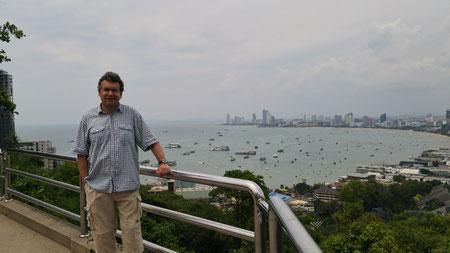 Pattaya Aussichtspunkt, der Autor