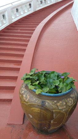 Der Aufstieg zum Golden Mount (Wat Saket)