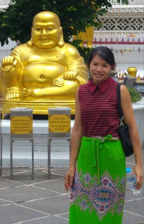 Wat Arun, meine Urlaubsabschnittsgefährtin 2