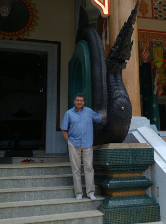 Wat Pa Phu Kon, der Autor