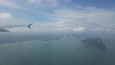Anflug auf Phuket