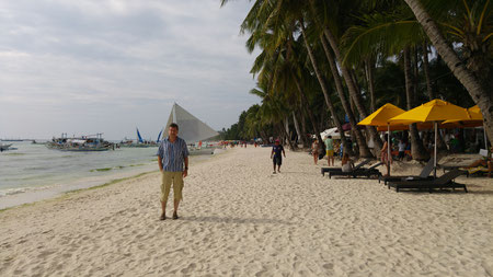 Der Autor, White Beach, Boracay