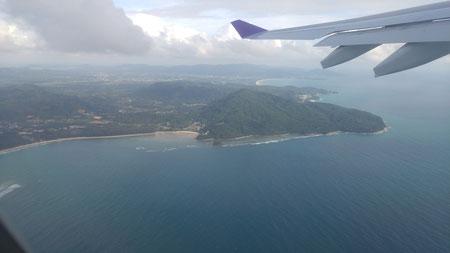 Abflug von Phuket