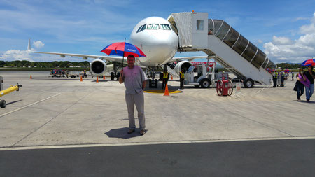 Mit dem Flieger von Clark nach Puerto Princesa