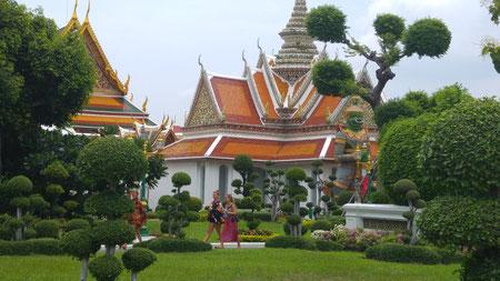 Gelände des Wat Arun