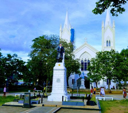 Kathedrale und Statue José Rizal, Puerto Princesa, Palawan