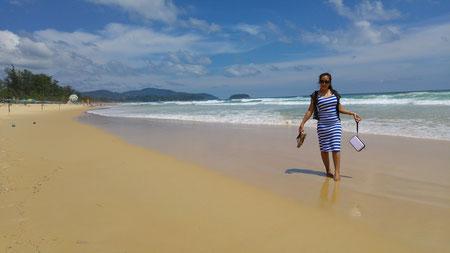 Eine thailändische Freundin, Karon Beach